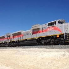 Etihad Rail train